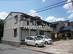 大阪府高槻市山手町1丁目の賃貸アパートの外観