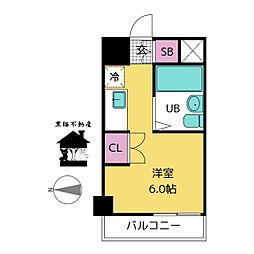 ラ・レジダンス・ド・ノーブル[5階]の間取り