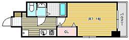 ラグゼ茨木II[105号室]の間取り