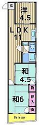 マルヤ本社ビル[303号室]の間取り