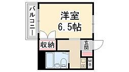 メゾン木村[203号室]の間取り
