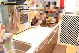 食洗機付きのシステムキッチンです