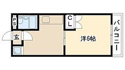 辻浦マンション[302号室]の間取り