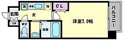 TOYOTOMI STAY PREMIUM ABENO天王寺(トヨトミステイプレミアムア 11階1Kの間取り