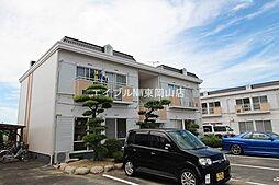岡山県瀬戸内市邑久町山田庄丁目なしの賃貸アパートの外観