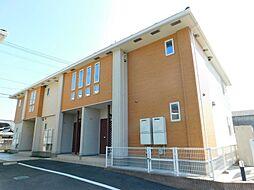福岡県行橋市大字辻垣の賃貸アパートの外観