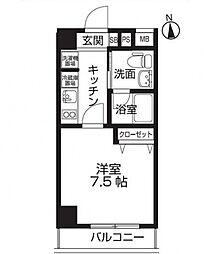 レオーネ板橋本町[4階]の間取り