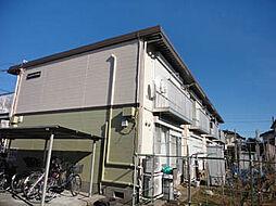 神奈川県大和市西鶴間7丁目の賃貸アパートの外観