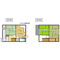 [一戸建] 兵庫県明石市藤江 の賃貸【/】の間取り