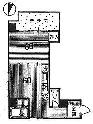 セザール本郷[3階]の間取り