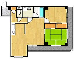 ジョーマリーハイツII[3階]の間取り