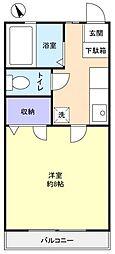 レマンハイツ八千代[1階]の間取り