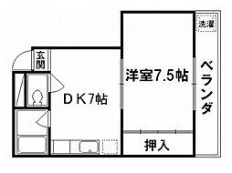 メゾンヨシムラ[2階]の間取り