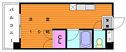 リバーサイドシャトー[2階]の間取り