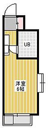 ジュネパレス新松戸第14[3階]の間取り