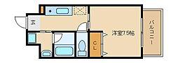 コージーコート[6階]の間取り