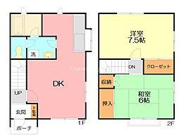 JR東海道本線 二宮駅 バス25分 滝ノ前下車 徒歩5分の賃貸テラスハウス