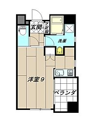 アベニュー小倉ウエスト[2階]の間取り