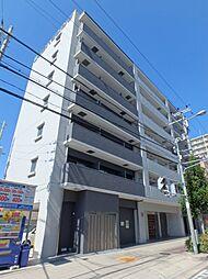 クローバー・ソレイユ南田辺[6階]の外観