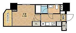 ロアール武蔵新城[2階]の間取り