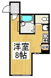 メゾンドプレステージ[1階]の間取り