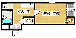 メゾンドオーブ2[2階]の間取り