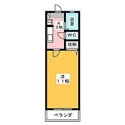 L・海老塚[1階]の間取り