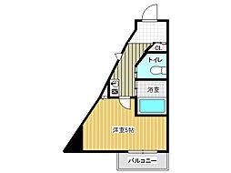 伊川谷マンション[3階]の間取り