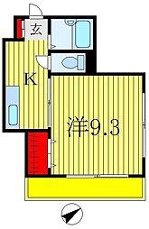 タムラビル[4階]の間取り