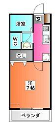 フォレストメゾン[2階]の間取り