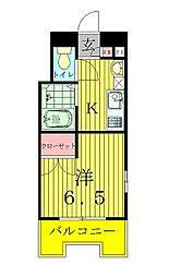 サフィールフォーレ65[2階]の間取り