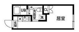 リスマテラス鷺宮[204号室号室]の間取り