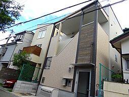 大阪府池田市石橋2丁目の賃貸アパートの外観