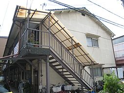 大阪府大阪市東淀川区小松1丁目の賃貸アパートの外観