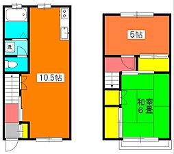 [テラスハウス] 神奈川県川崎市宮前区宮崎3丁目 の賃貸【/】の間取り