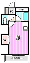 レナジア大和田[4階]の間取り