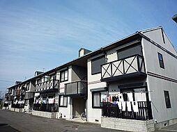 滋賀県栗東市綣6丁目の賃貸アパートの外観