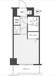 東京都練馬区関町南3丁目の賃貸マンションの間取り