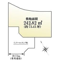 3号地 区画図
