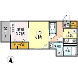 仮)D-room花町[2階]の間取り