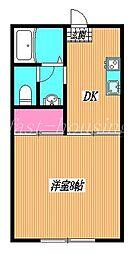 東京都武蔵野市吉祥寺北町3丁目の賃貸アパートの間取り