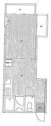 牧野ハイツ[2階]の間取り