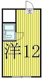 千葉県柏市あけぼの4丁目の賃貸マンションの間取り