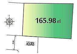 現地区画図です...