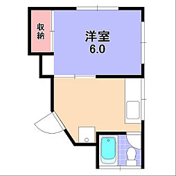 新栄ビル[303号室]の間取り
