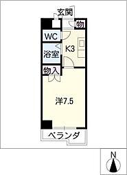 メリックス[2階]の間取り