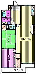 第一葵マンション[2階]の間取り