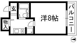 シラテック池田[4階]の間取り