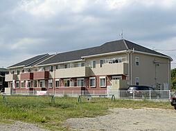 三重県伊勢市鹿海町の賃貸アパートの外観