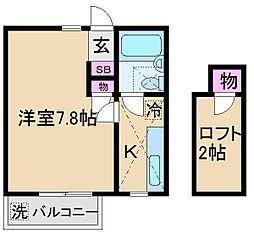 コエル第3ビル[1階]の間取り